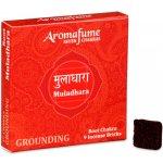 Indie Aromafume vonné cihličky 7 Čaker Muladhara 9 ks