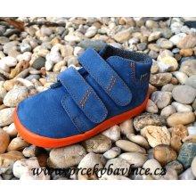 Beda Barefoot Blue mandarin s membránou BF-0001 W M broušená kůže e60d92bc81
