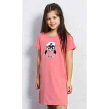 Dětská noční košile s krátkým rukávem Sova
