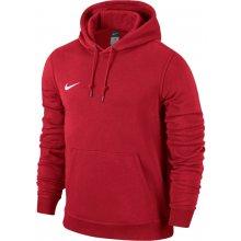 Nike Team Club Hoody 6 ks červená bílá UK Junior