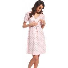 noční košile pro kojící maminky Emy 2 Cornette Růžová