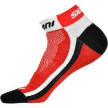 e5a60e6c01b Silvini kotníčkové ponožky PLIMA UA622 red