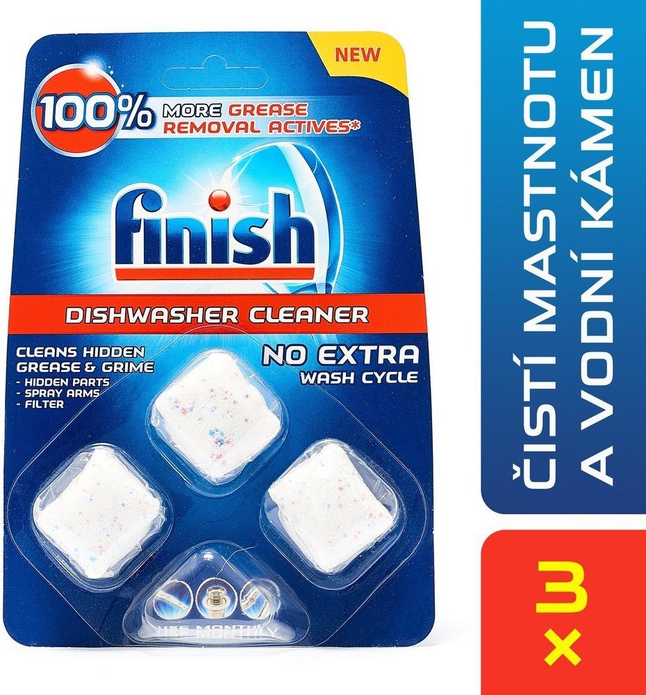 Calgonit Finish Kapsle na čištění myčky 3 ks