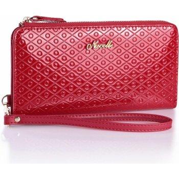 NUCELLE dámská peněženka Long Red