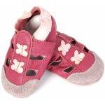Taptapi Kožené capáčky sandálky motýlci ca5288459e