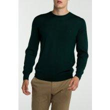 Gant Pánský svetr FINE MERINO CREW zelená