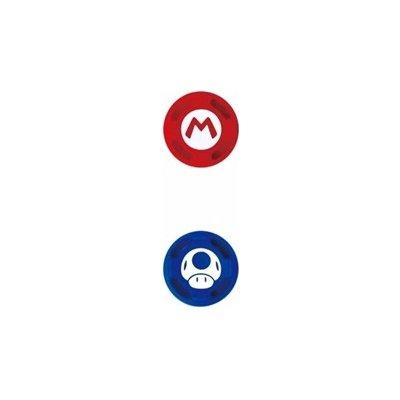Joy-Con Analog Stick Caps - Super Mario - Mario a houbička Switch