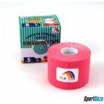 Tejpovací páska TEMTEX Kinesio Tape Classic 5 cm × 5 m červená