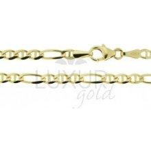 Náramek ze žlutého zlata LUXUR GOLD 2840057