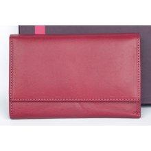 Italská velmi kvalitní kožená peněženka Il Giglio růžová