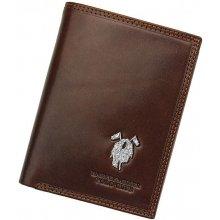 Harvey Miller 3820 475 pánská kožená peněženka hnědá