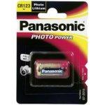 Baterie Panasonic CR-123 10 ks