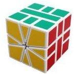 ShengShou Square 1 Magic Cube White