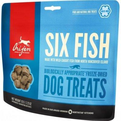 Orijen Dog F-D Six Fish Treats 42,5 g