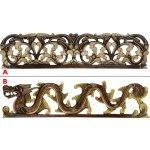 Autronic Dřevořezba na zeď s ornamenty Provedení  A AUBLS47-48 A 67915bfb25