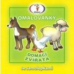 Vydavatelství Šikulka Domácí zvířata Omalovánky se samolepkami A5