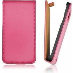 Pouzdro na mobilní telefon Pouzdro Forcell FLIP Slim Samsung i8190 S3 Mini růžové