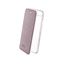 Pouzdro Guess IriDescent Booktype Case flipové Apple iPhone 6 iPhone 6S  iPhone 7 iPhone 8 růžově fc535473110