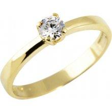 525ff5d61 Zlatý prsten se zirkonem PR0106M