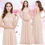 Dlouhé společenské šaty na jedno rameno i pro těhotné růžová 6d5707eb44c