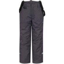 LOAP KIDS ZULA dětské lyžařské kalhoty Šedé dfb5a2d9b6