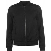 Golddigga Lightweight Bomber jacket ladies black
