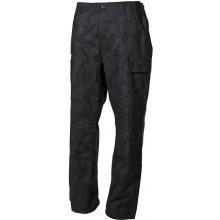 Kalhoty BDU-RipStop S blackcamo