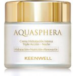 Keenwell AQUASPHERA Triple Action Intensive Moisturizing Night Cream - hydratační noční krém 80 ml