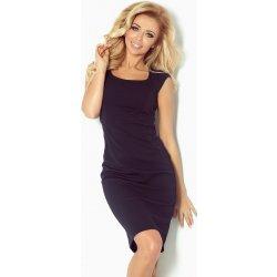 8da2c054e59a Numoco dámské elegantní společenské šaty bez rukávu SF 53-12 53-12A tmavě  modrá