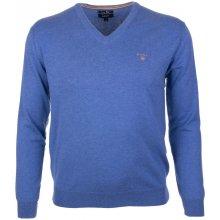 101e08f2c9d Gant Pánský svetr s výstřihem ve tvaru