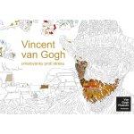 Vincent van Gogh omalovánky proti stresu