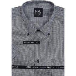 fe3098fe8523 AMJ Style pánská Košile ČernoBílá VK 651 od 576 Kč - Heureka.cz