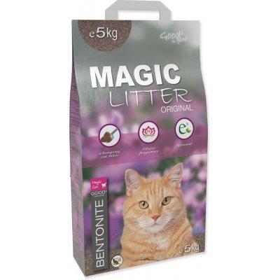 Magic Pearl S Magic Litter Bentonite Original Flowers 5 kg