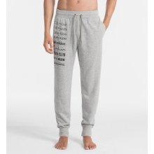 Calvin Klein Pánské kalhoty Jogger NM1435E-080 Grey Heather