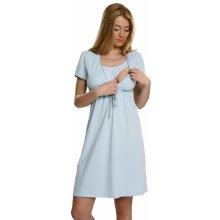 Italian Fashion Felicita mateřská noční košile modrá
