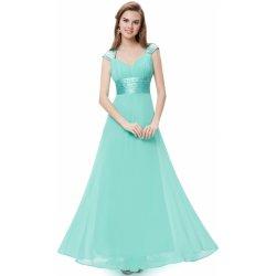 Ever-Pretty šifonové šaty EP09672AQ tyrkysově modrá od 2 370 Kč ... e0ee32974e9
