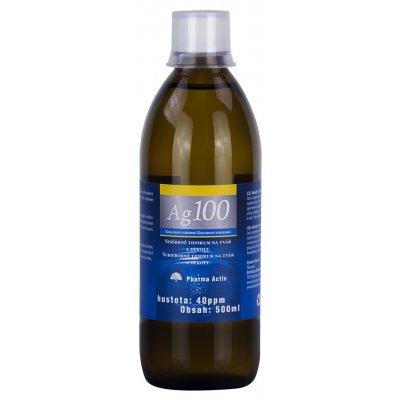 Pharma Activ Koloidní stříbro Ag100 40ppm 500 ml