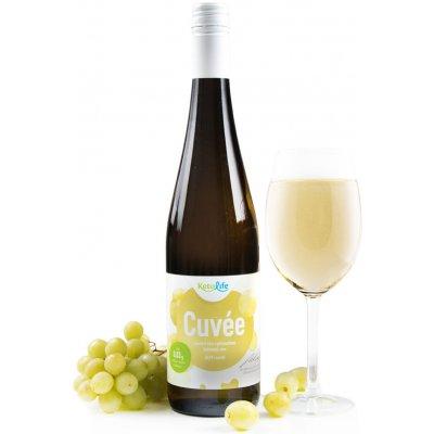 KetoLife Low carb víno Cuveé jakostní s přívlastkem 2019 0,75 l