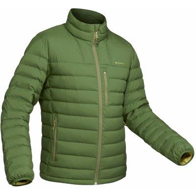 Forclaz pánská turistická péřová bunda Trek 500 zelená