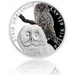 Česká mincovna Stříbrná mince Ohrožená příroda Puštík bělavý proof 16 g