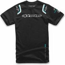 Alpinestars Pánské černé tričko ALLY TEE krátké 1066-72001 10