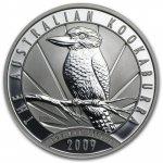 Kookaburra Stříbrná mince 1 AUD Australian Ledňáček 1oz 2009