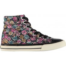 SoulCal Asti Hi Tops Child Girls Pink Floral