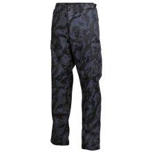 US BDU MFH kalhoty pánské night-camo