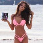 V&V Brazilian Bandage bikini růžová