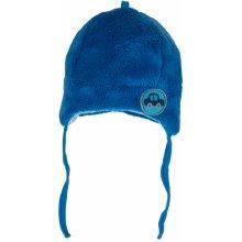 G-mini chlapecká hřejivá čepička Autíčka modrá
