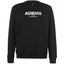 Adidas Essential Crew Sweater Mens Black