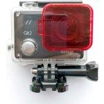 Červený podvodní filtr GitUp™ pro vylepšené pouzdro
