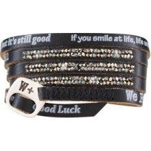 Náramek We Positive Wrap Moonlight ML002 Black
