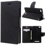 Pouzdro Fancy Diary Xiaomi Redmi 3 - černé